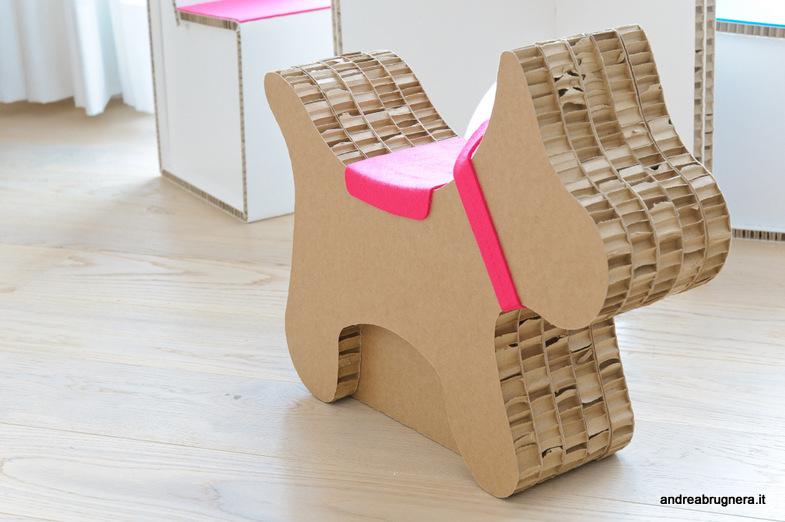 Kids play room andrea brugnera design for Arredi ecologici