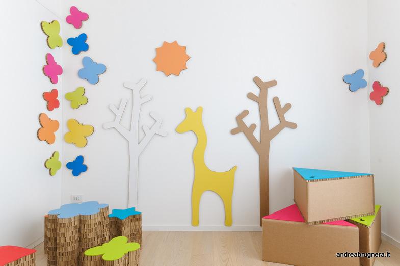 andrea brugnera designer stanza giochi cartone bambini arredi ...